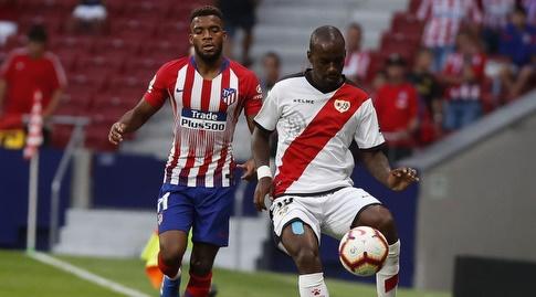 גאל קאקוטה במאבק עם תומא למאר (La Liga)