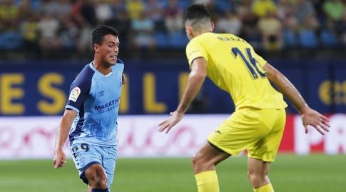 פדרו פורו מנסה לעבור את אלפונסו פדרסה (La Liga)