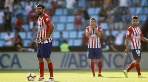 שחקני אתלטיקו מדריד. רוצים לשבור את הנאחס (רויטרס)