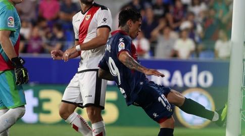 אזקיאל אווילה עצבני (La Liga)