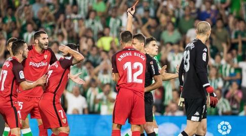 שחקני סביליה בדרבי. יתאוששו מול חטאפה? (La Liga)