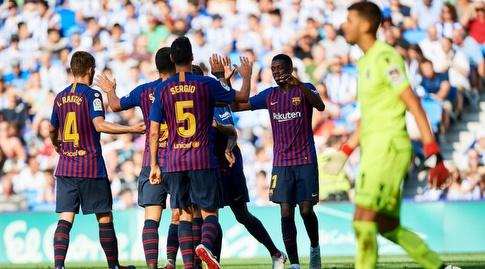 שחקני ברצלונה בטירוף (La Liga)