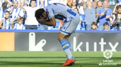 מיקל אויארסבאל מתוסכל (La Liga)