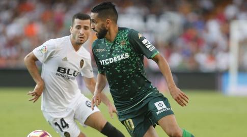 חוסה גאיה מנסה לחטוף לריאד בודבוז (La Liga)