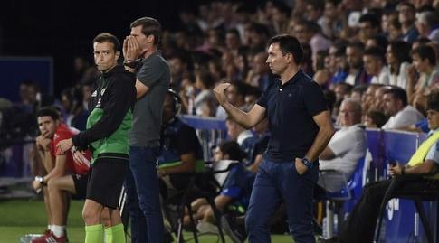 אסייר גריטאנו ולאו פרנקו על הקווים (La Liga)