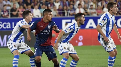 קוצ'ו הרננדס בין שחקני ריאל סוסיאדד (La Liga)