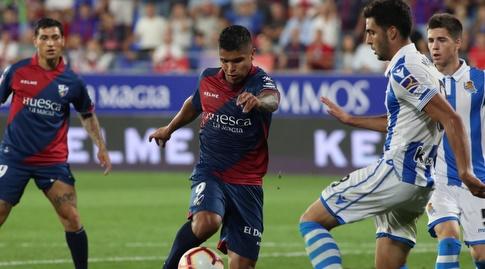 קוצ'ו הרננדס עם הכדור (La Liga)