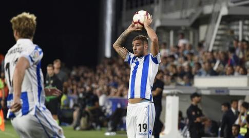 תאו הרננדס עם הכדור (La Liga)