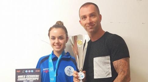 דניאלה פשייב וקיריל גריגורייב (באדיבות התאחדות אילת)