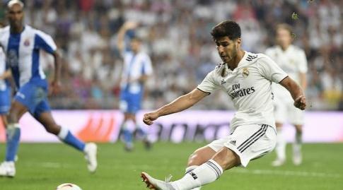 מרקו אסנסיו מבקיע (La Liga)