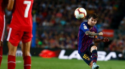 ליאו מסי בועט (La Liga)