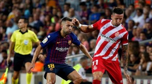 אדאיי בניטס מול ג'ורדי אלבה (La Liga)