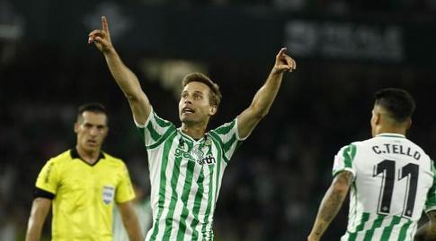 סרחיו קנאלס חוגג (La Liga)