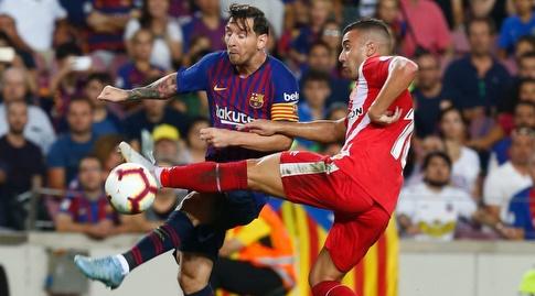ליאו מסי מוכשל (La Liga)