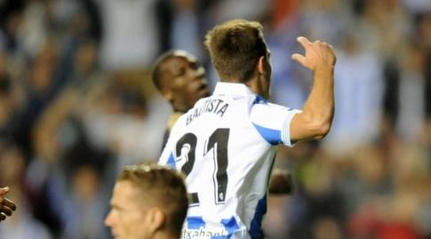 ג'ון באוטיסטה חוגג (La Liga)