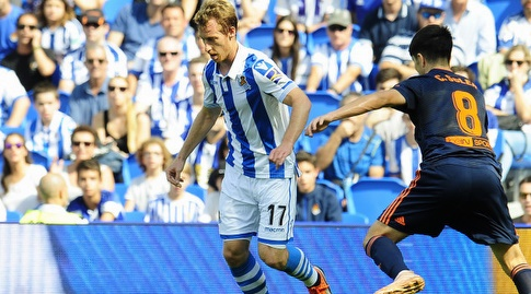 דויד סורוטוסה עם הכדור (La Liga)