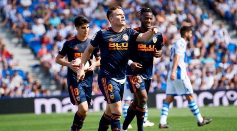 קווין גאמיירו חוגג (La Liga)