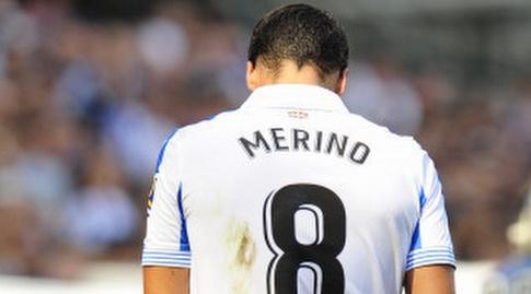 מיקל מרינו מאוכזב. נפצע והוחלף (La Liga)