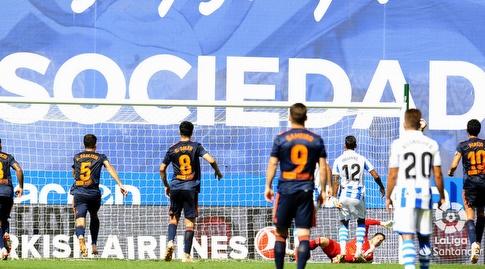 נטו עוצר את הפנדל. רגע משמעותי במשחק (La Liga)