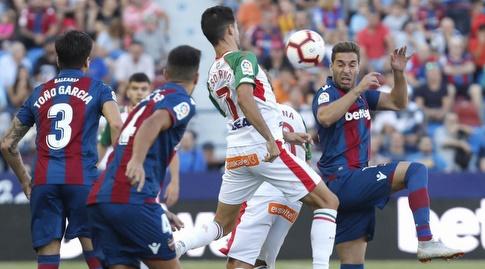 רובן סוברינו עם הכדור (La Liga)