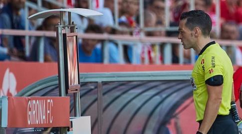 אדוארדו פרייטו איגלסיאס נעזר בטלוויזיה (La Liga)