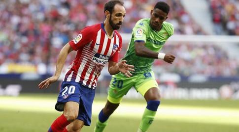 חואנפראן עם הכדור (La Liga)