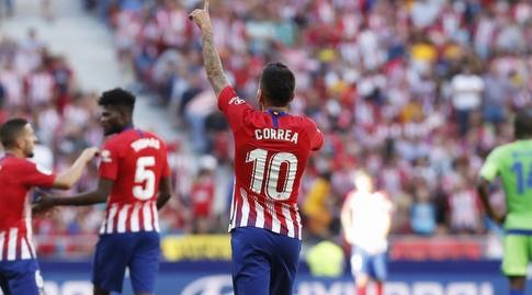 אנחל קוראה חוגג (La Liga)