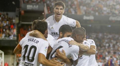 שחקני ולנסיה בטירוף (La Liga)