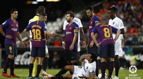 שחקני ולנסיה וברצלונה (La Liga)