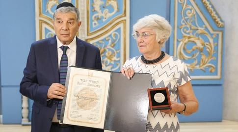 בני הזוג הלנה ומיקולאי סיוסקי (איציק בלניצקי)