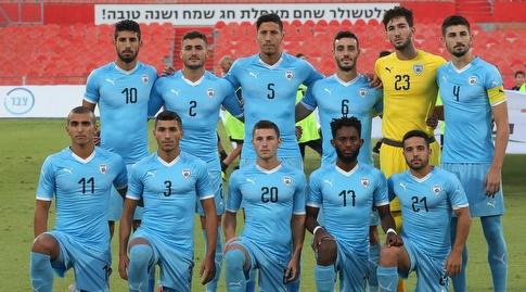 שחקני נבחרת ישראל הצעירה (שחר גרוס)