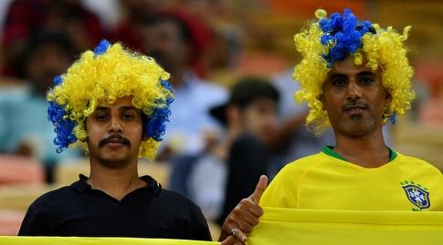 אוהדי ברזיל (רויטרס)