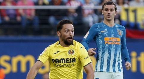 אנטואן גריזמן משקיף על מנואל איטורה (La Liga)