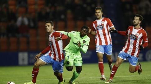 מוזס סימון מול שחקני לוגו (La Liga)