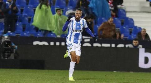 יוסוף א-נסירי חוגג (La Liga)