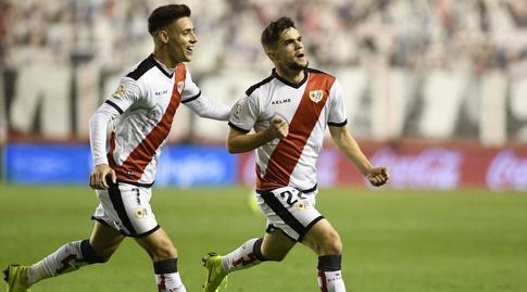 חוסה אנחל פוצו ואלחנדרו מורנו חוגגים (La Liga)