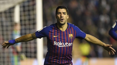 לואיס סוארס. כובש כל משחק שני מול סלטה (La Liga)