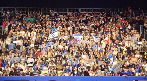 הקהל הישראלי באליפות אירופה (שחר גרוס)