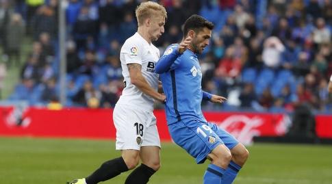 דניאל ואס לוחץ את חורחה מולינה (La Liga)