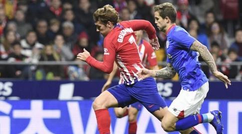 אנטואן גריזמן רודף אחר הכדור (La Liga)