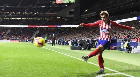 אנטואן גריזמן מרים כדור קרן (La Liga)