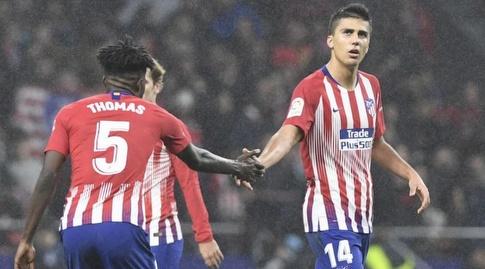 רודרי הרננדס חוגג את שער השוויון (La Liga)