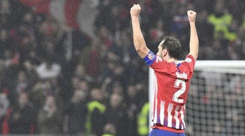 דייגו גודין חוגג (La Liga)