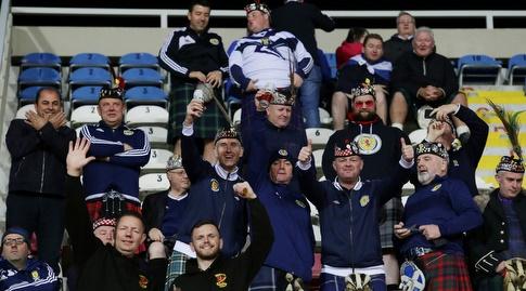 אוהדי נבחרת סקוטלנד (רויטרס)