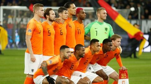 שחקני נבחרת הולנד (רויטרס)