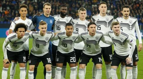 שחקני נבחרת גרמניה (רויטרס)
