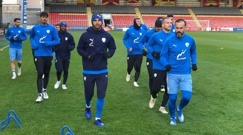 נבחרת ישראל באימון (ההתאחדות לכדורגל)