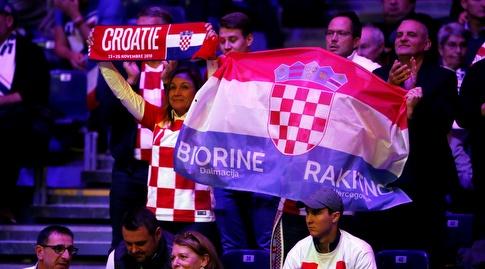 אוהדי נבחרת קרואטיה (רויטרס)