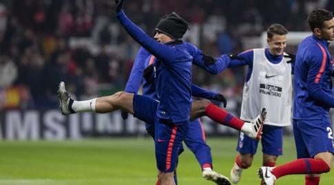 אנטואן גריזמן בחימום (La Liga)