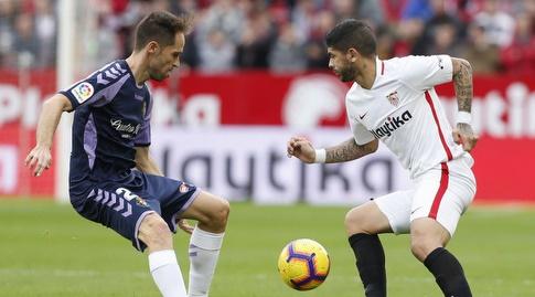 אבר באנגה מול חואקין פרננדס (La Liga)